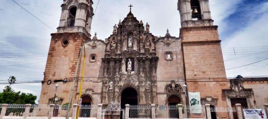 Templo Del Santuario De Nuestra Señora De Guadalupe Templo De Guadalupe Aguascalientes