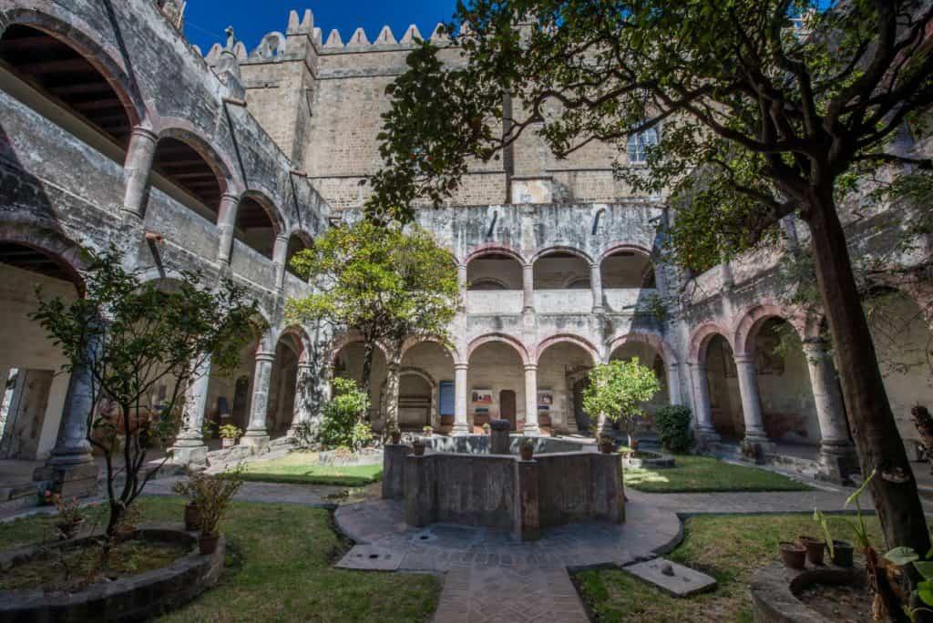 Ex Convento de San Miguel Arcángel en Huejotzingo Puebla