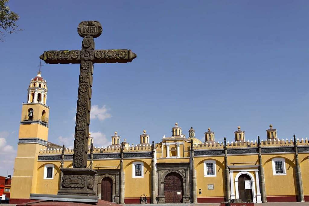 Ex Convento Franciscano de San Andrés Calpan Puebla