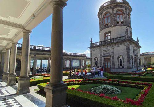 CASTILLO DE CHAPULTEPEC MUSEO NACIONAL DE HISTORIA CIUDAD DE MEXICO CITY
