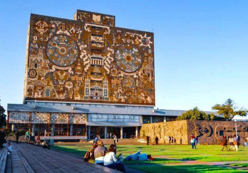 Campus Central Unam Universidad Autonoma de Mexico