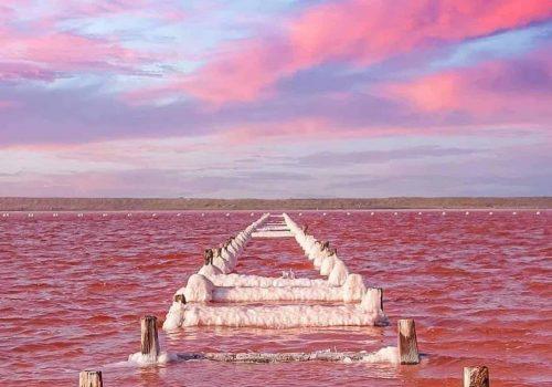 Las Coloradas Rio Lagartos Yucatan