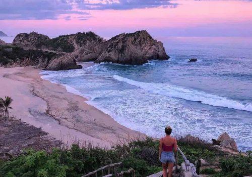 Maruata Michoacan Playas de Mexico