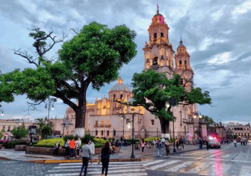 Morelia michoacan Mexico