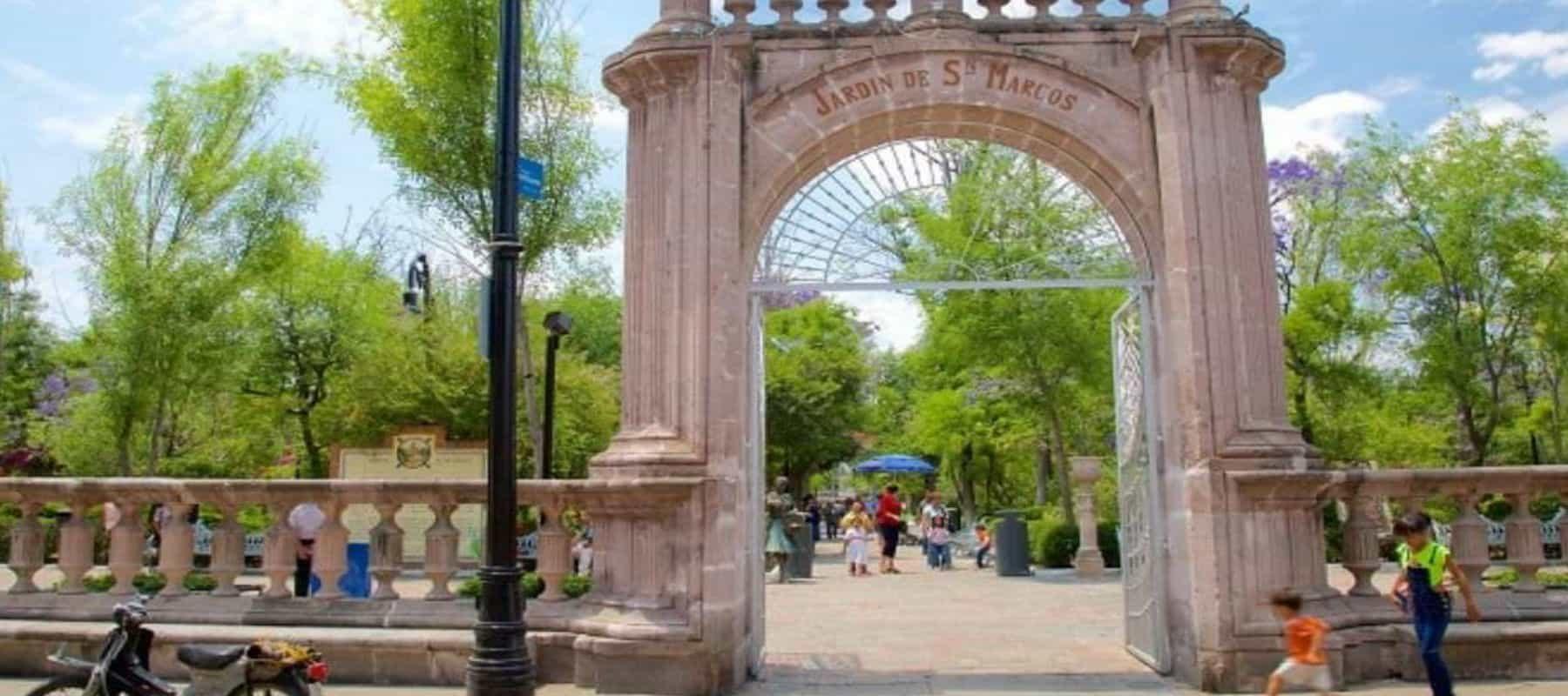 jardín de San Marcos en Aguascalientes