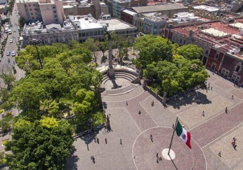 Exedra y Plaza Patria - Ciudad de Aguascalientes