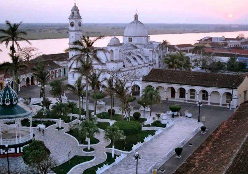 Zona de monumentos históricos de Tlacotalpan - VERACRUZ